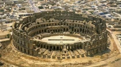 El Jem Tunisia Arial photo