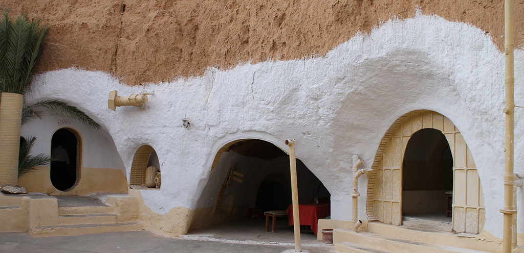 Tatooine village in Tunisia